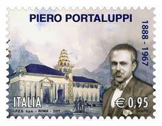 Italia Repubblica 2017 Piero Portaluppi  Euro 0,95 MNH ** Integro - 2011-...:  Nuovi