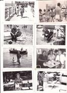 CATTOLICA - RIMINI - LOTTO DI 13 FOTO DEL 1962 - CON DIDASCALIA - Lieux