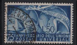 1949 Francobolli Repubblica 75 UPU - 1946-60: Usati