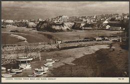 Looking Towards Towan Beach & Island, Newquay, Cornwall, C.1950s - Jarrold Postcard - Newquay