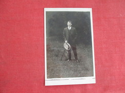RPPC    Well Dressed Man With Cane Ref 2751 - Fashion