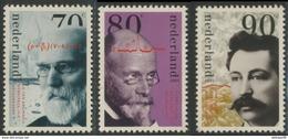 Nederland Netherlands Pays Bas 1993 Mi 1484 / 6 YT 1449 /1 ** Dutch Nobel Prize Winners, V.d. Waals, Einthoven, Eijkman - Nobelprijs