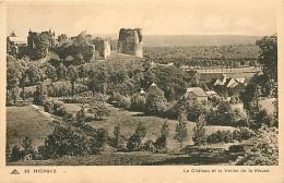 Hierges. Le Château   2  Cartes - France