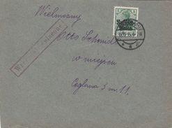 Occupation Allemande En Pologne Lettre Censurée Warschau 1916 - Occupation 1914-18