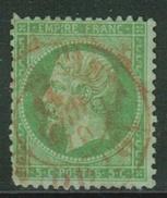 France // 1862 // Yvert & Tellier Napoléon III  No.20 Oblitéré (voir Scan Pour Dentelure) - 1862 Napoleon III