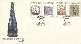 Venda 1986 History Of Writing FDC - Venda