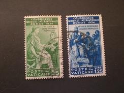 CITTA DEL VATICANO PONTIFICIO 1935 CONGRESSO GIURIDICO INTERNAZIONALE - Oblitérés