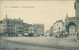 AK Schaerbeek Schaarbeek, Place Collignon, Um 1910 (26956) - Schaerbeek - Schaarbeek