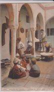 JUDAICA . ALGERIE .Scènes Et Types .  Intérieur De Maison Juive - Judaisme