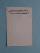 Verbond Der Postzegelkringen Der Stad En Provincie ANTWERPEN : Dag Van De Postzegel 5-4-1964 ( Zie Foto's ) - Belgium