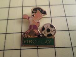 Pin416c Pin's Pins / Beau Et Rare : SPORTS / FOOTBALL CLUB USM VIROFLAY - Football