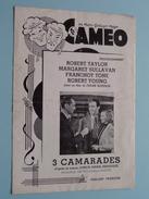"""Le CAMEO """" 3 CAMARADES """" ( Frank Borzage ) 1939 ( Zie Foto's Voor Detail ) ! - Publicité Cinématographique"""