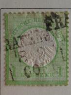 EMPIRE 1872 MICH. N° 23 - GRAND AIGLE 1 KREUZER VERT - Germany