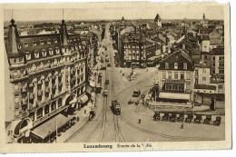 Luxembourg   Entrée De La Ville Tram - Luxemburg - Stad