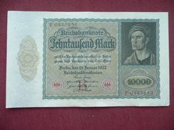 ALLEMAGNE Superbe Billet De 10000 Mark 1922 - [ 3] 1918-1933 : República De Weimar