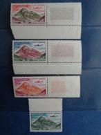 ANDORRE 1961-64 P.A. Y&T N° 5 à 8 ** - VALLEE D'INCLES, A SOLDEU - Airmail