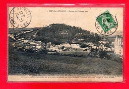 27-CPA IVRY LA BATAILLE - RUINES DU CHATEAU FORT - (N°2219) - Ivry-la-Bataille
