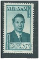 Vietnam Empire  N° 13 XX. Partie De Série :Souverains Et Sites : 30 Pi Bleu-vert,  Sans Charnière  TB - Viêt-Nam