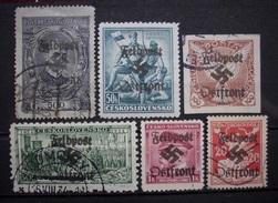 Dt.Reich Occupation Czechoslovakei 1938* Aufdruck Feldpost Ungebraucht & Gestempelt     (R383) - Ocupación 1938 – 45
