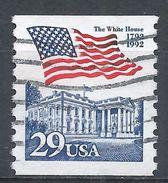 United States 1992. Scott #2609 (U) Flag Over White House - Rollen