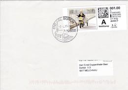 ATM.Brief Von Altbüron Nach Melchnau Mi: PC 5.3 WEBSTAMP - Automatic Stamps