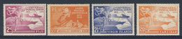 1949 Joint Issue / Gemeischaftsausgabe - MH - 4 Countries - 75th Ann. UPU / Weltpostverein - Hermes, Globe, Transport - Joint Issues