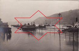 Foto-AK Januar 1920 KOBLENZ (Coblenz) - Rhein Hochwasser, Ansicht (A184, Ww1, Wk 1) - Koblenz