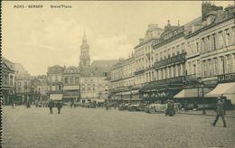 AK Mons Bergen, Grand'Place, Ca. 1910er Jahre (26964) - Mons
