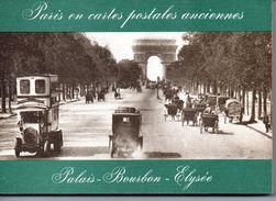 Cartes Postales : Livre Cartonné : Paris : Palais-Bourbon-Elysée - Boeken & Catalogi