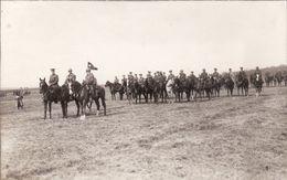 Foto-AK März 1920 RANSBACH-BAUMBACH (Westerwald) - Amerikanische Soldaten, Revue, 50th Infantry (A184, Ww1, Wk 1) - Allemagne
