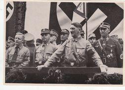 """III. Reich, Propaganda  Karte,  Sammelwerk """" Deutschland Erwacht """", Kundgebung In Dortmund 1933, - Guerra 1939-45"""