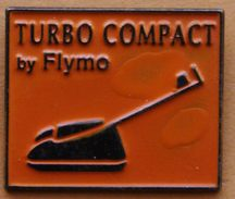 Y  458  )........AGRICULTURE /TRACTEUR /.OUTILS/.................TURBO  COMPACK.....BY.......FLYMO... - Pin's