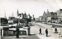 BELGIUM - Antwerpen - Vue Sur Le Steen - VG Animation - . RPPC - Antwerpen