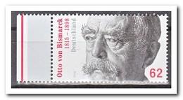 Duitsland 2015, Postfris MNH, MI 3145, Otto Von Bismarck - Nuevos