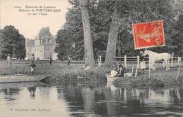 PINTERVILLE - Le Château, Vu Sur L'Eure - Pinterville