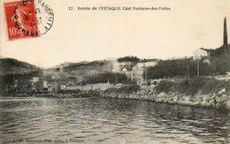 CPA - L'ESTAQUE (13) - Aspect De L'entrée Côté Fontaine-des-Tuiles En 1908 - Comune De Marseille - France