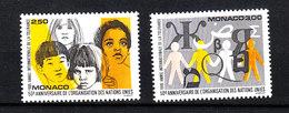 Monaco  -  1995. Unesco. Anno Della Tolleranza. Year Of Tolerance. MNH, Complete Set - UNESCO