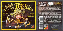 """1569 - Belgique - Bière """"·Cuvée Des Trolls"""" - Brasserie Dubuisson Frères - 7904 - Pipaix - Bière"""