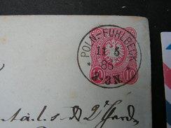 DR Brief Aus Poln.Fuehlbeck 1886  Haugsdorf - Deutschland