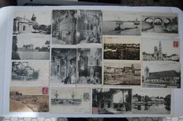 17 CARTES ANCIENNES < TOUTES SCANNEES Et VISIBLES - Cartoline