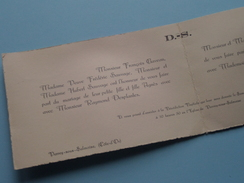Agnès SAUVAGE & Raymond DESPLANTES Le 14 Mai 1938 Verrey-sous-Salmaise Côte D'Or ( Zie/voir Foto's Voor Detail ) ! - Mariage
