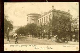 Postcard, Czech Republic, Prague, Used 1902, Greetings  From...., UPU - Czech Republic