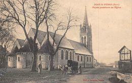 PONT SAINT PIERRE - Façade Postérieure De L'Eglise - France