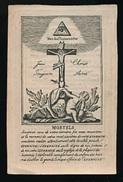 DOODSPRENTJE - PAUS LEO XII - STAMHUYS , LA GENGA , BY SPOLETO 1760 - OVERLEDEN 10 FEBRUARY 1829 - 2 AFBEELDINGEN - Obituary Notices