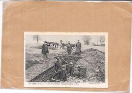 GUERRE 1914/15 - LES TRANCHÉES - Soldats Travaillant La Terre -   - NANT2  - - Guerre 1914-18