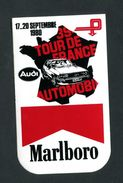 "Sticker Autocollant ""Marlboro""  39e Tour De France Automobile - Audi - 17-20 Septembre 1980 - Course Automobile - Automobile - F1"
