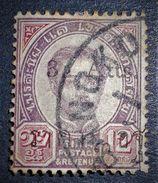 SURCHARGE 1890/99 - OBLITERE - YT 22 - MI 24 - RARE ! - Siam