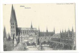 18424 -  Lübeck Marktplatz - Luebeck