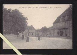 Creuse - Cheneraille - Le Jardin Public, Et Place Du Foirail - France