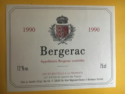 5991  - Bergerac 1990 - Bergerac